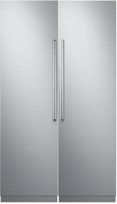 Dacor 742729 Modernist Side-By-Side Refrigerators