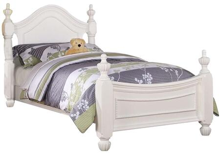 Acme Furniture 30125T Classique Series  Twin Size Poster Bed