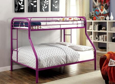 Furniture of America CMBK1033PRBED Rainbow Series  Bed