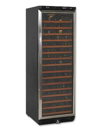 """Avanti WCR682SS2 23.5"""" Freestanding Wine Cooler, in Black on Stainless"""