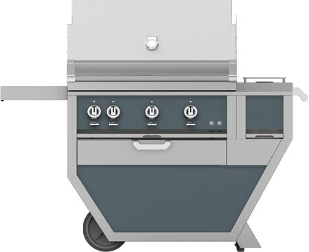 54 in. Deluxe Grill with Worktop   Pacific Fog