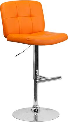 Flash Furniture DS829ORGGG Residential Vinyl Upholstered Bar Stool