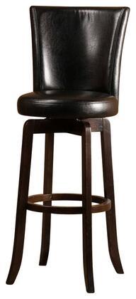 Hillsdale Furniture 4951831 Copenhagen Series Residential Vinyl Upholstered Bar Stool