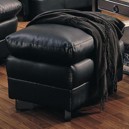 Coaster 501924 Harper Series Contemporary Bonded Leather Ottoman