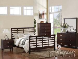 Acme Furniture 20080Q Preston Series  Sleigh Bed