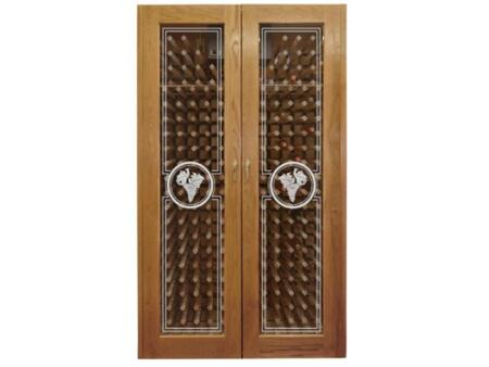 "Vinotemp VINO700ETCHCON 51"" Freestanding Wine Cooler"