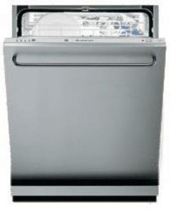 Ariston LI640SNA  Built-In Fully Integrated Dishwasher with in Stainless Steel