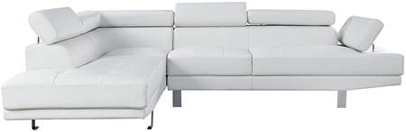 Acme Furniture 52645 Connor Series Sofa And Chaise Bycast Leather