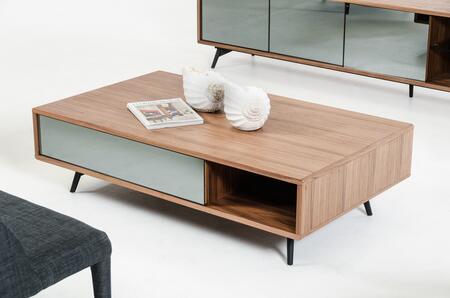 VIG Furniture VGBB1403AWAL Walnut Modern Table