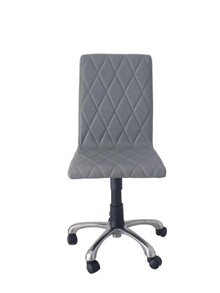Whiteline Julian julian office chair gray 2