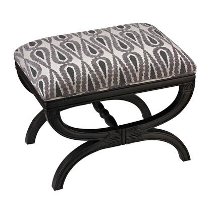 Sterling 139008 Ventnor Series Accent Armless Wood Fabric Bench