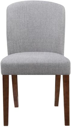 Coaster 150393 Louise Series Transitional Fabric Wood Frame Dining Room Chair