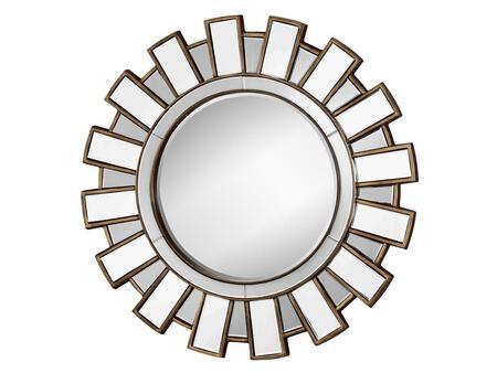Stein World 12435 Anzio Series Round Portrait Decorative Mirror