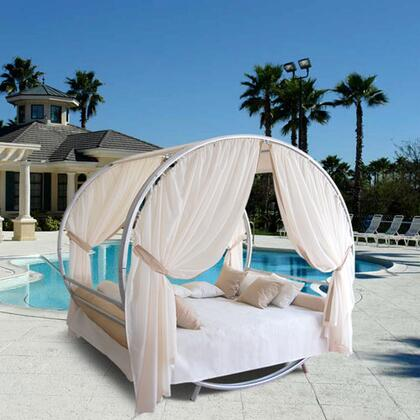 """Vifah V1261 99"""" Canopy Outdoor Bed"""