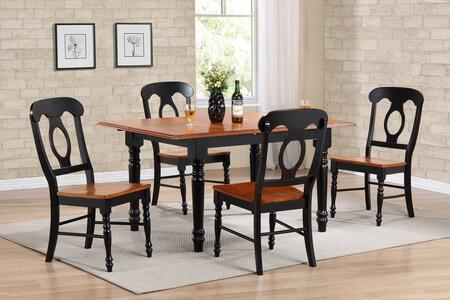 Sunset Trading DLUTLB3660C50BCH5PC Sunset Selections Dining
