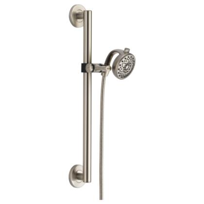 Universal Showering Components  51400-SS Delta: Decorative ADA Shower Kit Contemporary in Stainless
