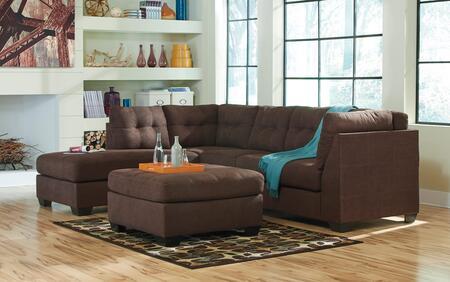 Milo Italia MI9812SECOT1WALN Octavio Living Room Sets