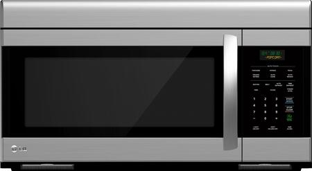 LG LMV1683ST 1.6 cu. ft. Capacity Over the Range Microwave Oven |Appliances Connection