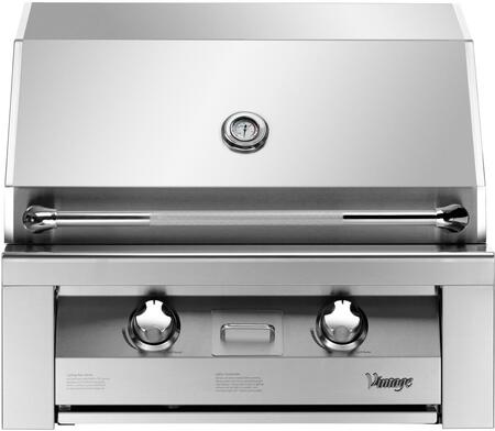 Vintage VBQ30GBLP Built In Grill, in Stainless Steel