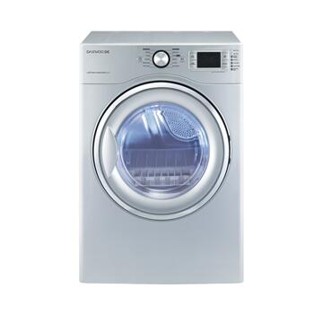 Daewoo DWRWG5413SC  Gas Dryer, in Silver