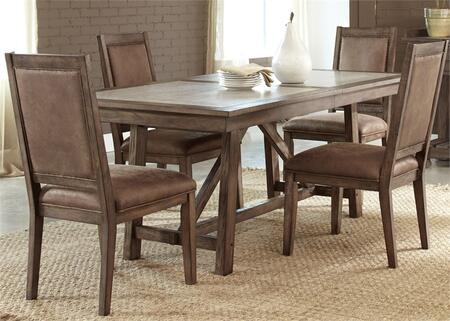 Liberty furniture 466dr5trs stone brook dining room sets for Dining room furniture 0 finance