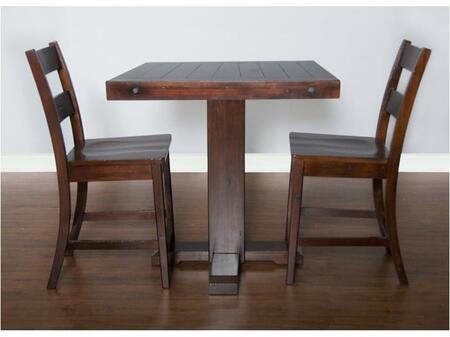 Sunny Designs 1377RMBT2S Vineyard Bar Table Sets