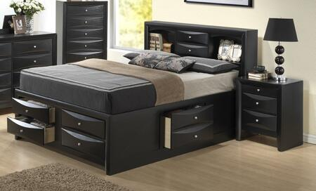 Glory Furniture G1500GQSB3CHN G1500G Queen Bedroom Sets