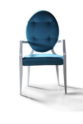 VIG Furniture VGDVLS303 Emma Series Modern Fabric Wood Frame Dining Room Chair