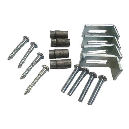 Screws and brackets
