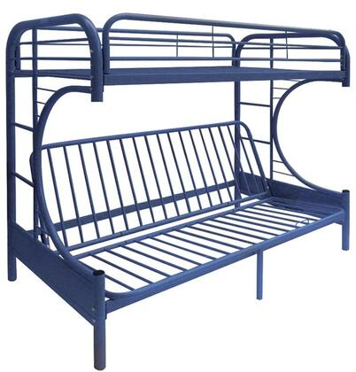 Acme Furniture 02091WNV Eclipse Series  Twin over Full Size Bunk Bed