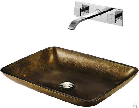 Vigo VGT112 Chrome Bath Sink