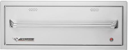 Twin Eagles TEWDxC Outdoor Warming Drawer, in Stainless Steel