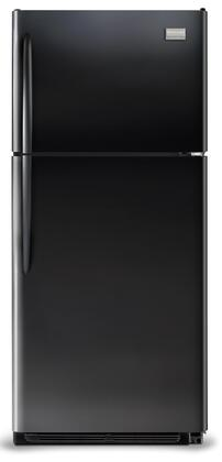 Frigidaire FGHT1846KE Gallery Series Refrigerator with 18.28 cu. ft. Capacity in Black