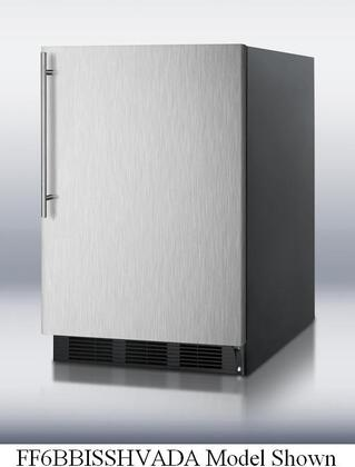 Summit FF6BBISSHVADALHD  Counter Depth All Refrigerator with 5.5 cu. ft. Capacity in Stainless Steel