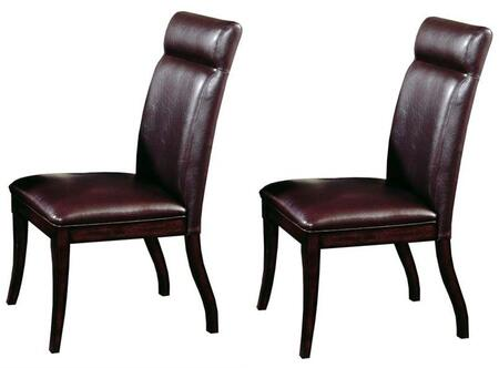 Hillsdale Furniture 4077802 Nottingham Series Modern Faux Leather Wood Frame Dining Room Chair