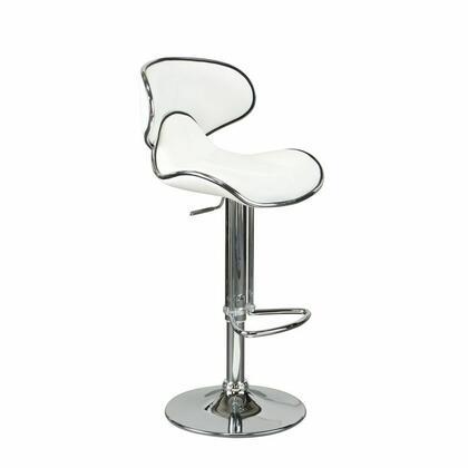 Diamond Sofa 972W Residential PVC Upholstered Bar Stool