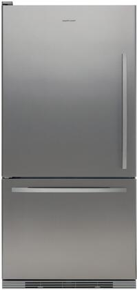 Fisher Paykel RF175WCRX1 Active Smart Series Counter Depth Bottom Freezer Refrigerator with 17.5 cu. ft. Total Capacity 5.1 cu. ft. Freezer Capacity 2 Glass Shelves