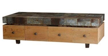 Bramble 25783 Drift Wood Transitional Table