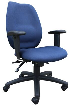 "Boss B1002BE 30.5"" Adjustable Contemporary Office Chair"