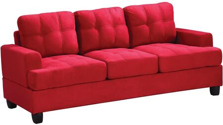 Glory Furniture G516AS  Stationary Suede Sofa