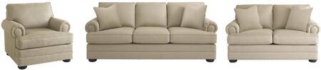 Bassett Furniture 3913FCFC1611SLC Hyde Park Living Room Sets