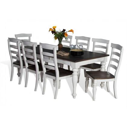 Sunny Designs 1015FCDT8C Bourbon Country Dining Room Sets