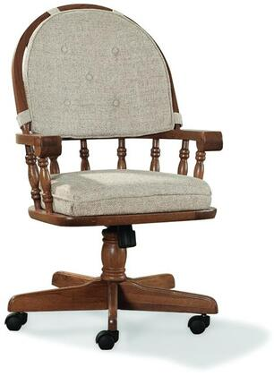 Intercon Furniture COCH2501CNTSU Classic Oak Series Contemporary Fabric Wood Frame Dining Room Chair