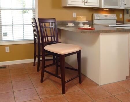 Atlantic Furniture MONTEGOBAYOCPCES Montego Bay Series  Bar Stool