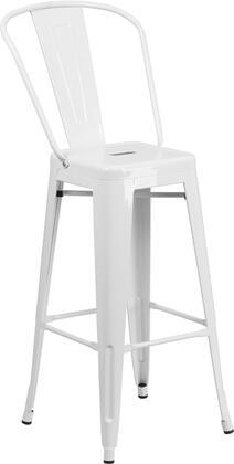 "Flash Furniture CH3132030GBGG 30"" High Metal Indoor-Outdoor Barstool"