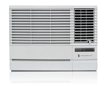 Friedrich CPXXG10 Compact Programmable xx BTU Window Air Conditioner With 24-Hour Timer, Auto-Restart, 4-Way Air Flow Control, Ultraquiet Operation, Stale Air Exhaust & In Expandable Side Curtains