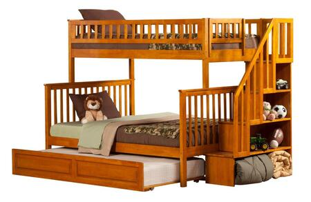 Atlantic Furniture AB56737  Twin over Full Size Bunk Bed