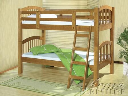 Acme Furniture 40010 Manville Series  Twin Size Bunk Bed