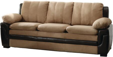 Glory Furniture G288S  Stationary Microfiber Sofa