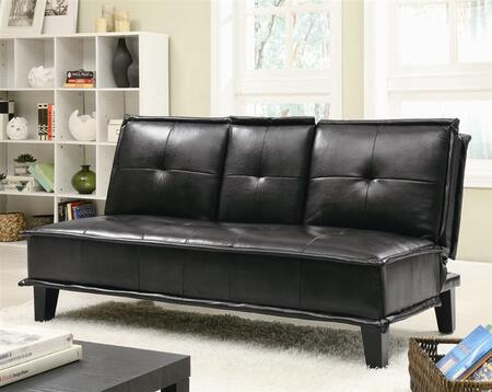 Coaster 300138  Convertible Vinyl Sofa